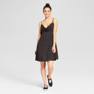 NWT Target Polka Dot Tie-Front Dress